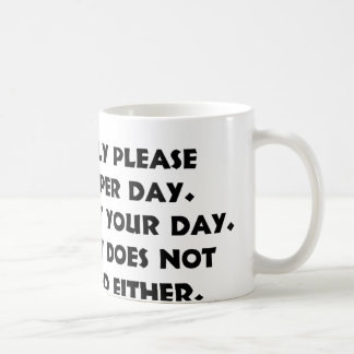 Please Only 1 Person 2 Mug