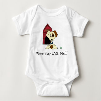 Please Play with me Baby Bodysuit