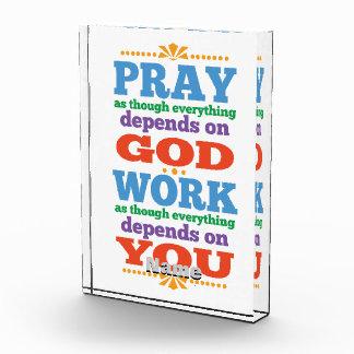 Please Pray to God Award