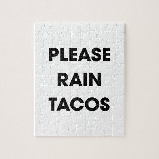 Please Rain Tacos 2 Jigsaw Puzzle
