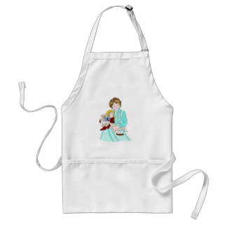 Please Read Me a Bedtime Story Adult Apron