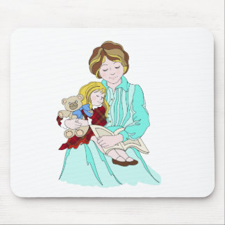 Please Read Me a Bedtime Story Mousepad
