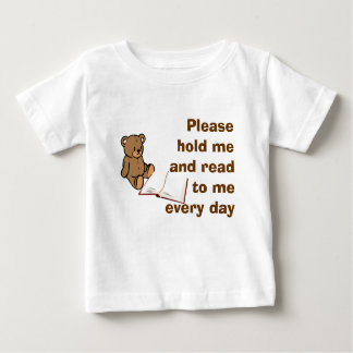 Please Read to Me Baby T-Shirt