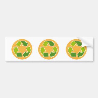 Please Recycle bumper sticker