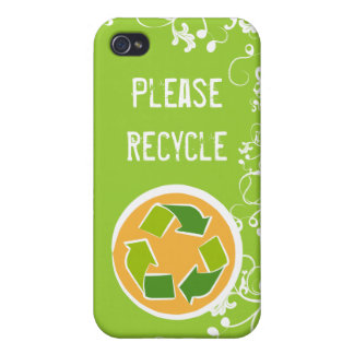 Please Recycle Case For iPhone 4