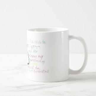 Please RECYCLE Classic White Coffee Mug