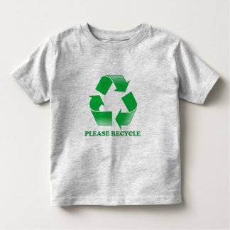 Please Recycle. Recycling Awareness. Go Green. Tees
