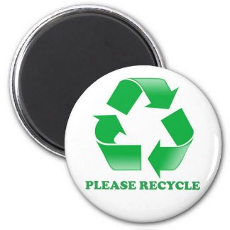 Please Recycle Recycling Magnet Fridge Magnets
