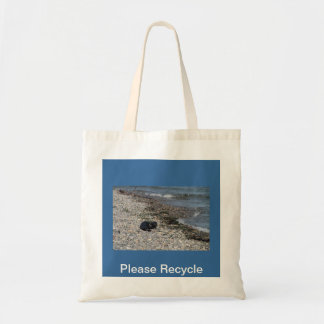 Please Recycle Seal Tote Bag
