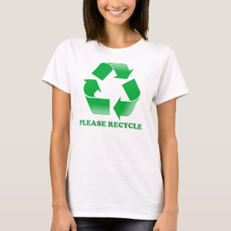 Please Recycle T-Shirt