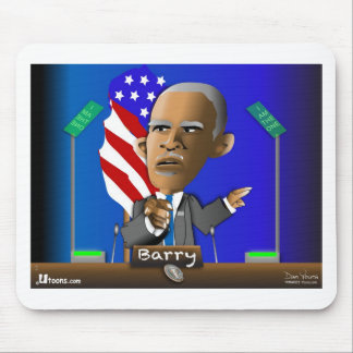 Please Reelect Me by Barry Mouse Pad