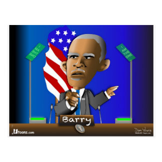 Please Reelect Me by Barry Postcard