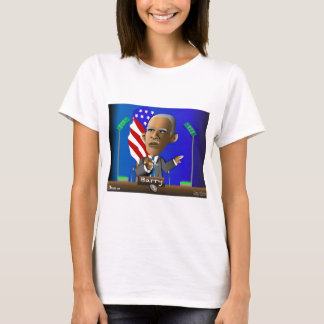 Please Reelect Me by Barry T-Shirt