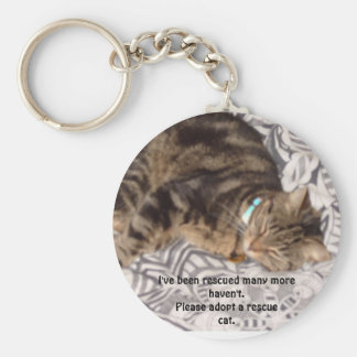 Please rescue a cat keychain