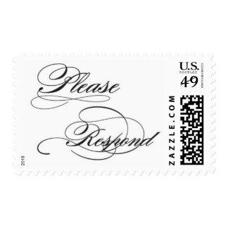 Please Respond Postage Stamp