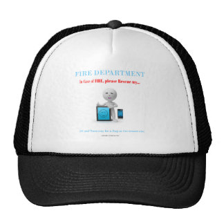 please save my cell and tablet incase of fire hats