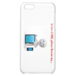 please save my cell and tablet incase of fire iPhone 5C case