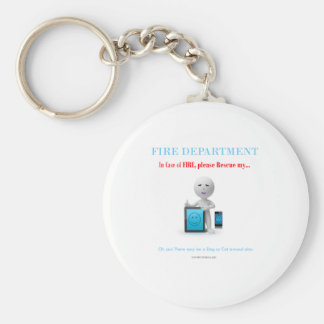 please save my cell and tablet incase of fire keychain