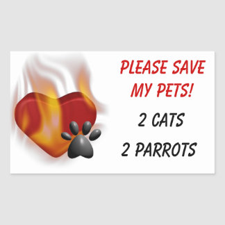 Please Save My Pets! Stickers