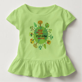 Please Save My Planet. Stop Global Warming Toddler T-shirt