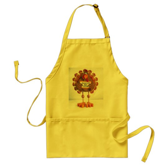 PLEASE Send out for pizza ! Adult Apron