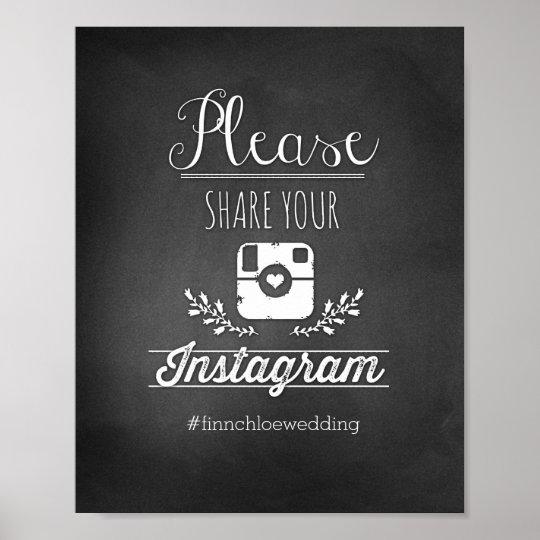 please share your instagram 8x10 poster. Black Bedroom Furniture Sets. Home Design Ideas