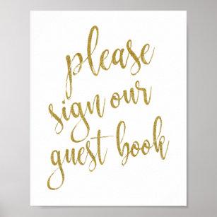 please sign our guest books zazzle