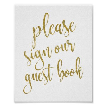 StampsbyMargherita Please Sign our Guest Book 8x10 Wedding Sign