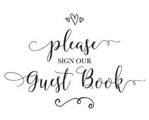 wedding guest books zazzle
