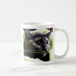 Please Spay Your Cat Prevent Unwanted Kittens Coffee Mug