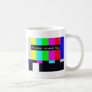 please stand by-technical difficulties ... coffee mug
