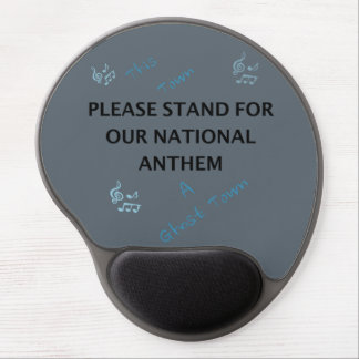 Please Stand For Our National Anthem Gel Mouse Pad