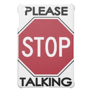 Please STOP Talking iPad Mini Cases