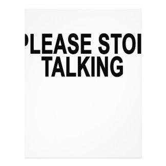 PLEASE STOP TALKING.png Letterhead
