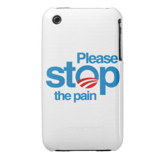 Please stop the pain Case-Mate iPhone 3 case