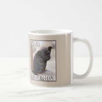 Please Support Animal Rescue Animal Rescue Mug