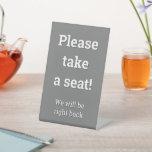 """[ Thumbnail: """"Please Take a Seat!"""" ]"""
