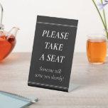 """[ Thumbnail: """"Please Take a Seat"""" ]"""