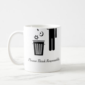 Please Think Responsibly Coffee Mug