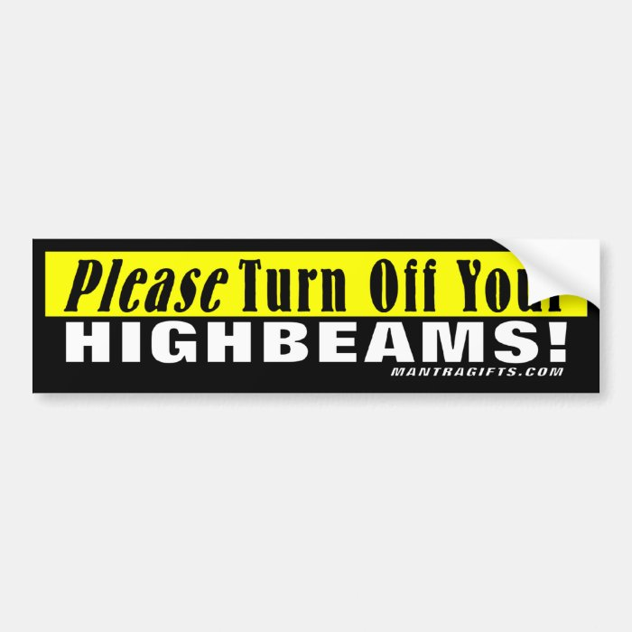 how to turn off high beams