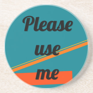 Please Use Me 80s coaster