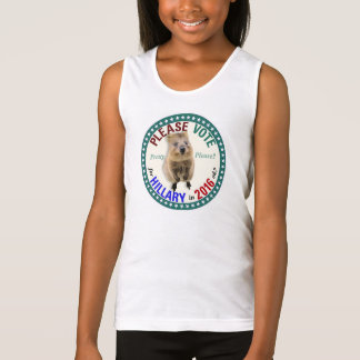 Please vote for Hillary for President 2016 Tank Top