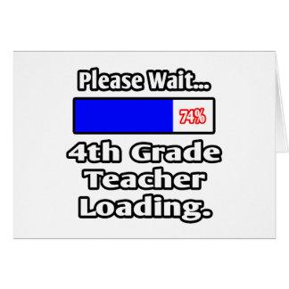 Please Wait...4th Grade Teacher Loading Card