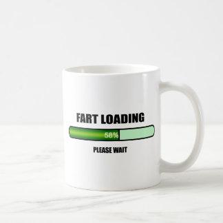 Please Wait Fart Now Loading novelty Classic White Coffee Mug