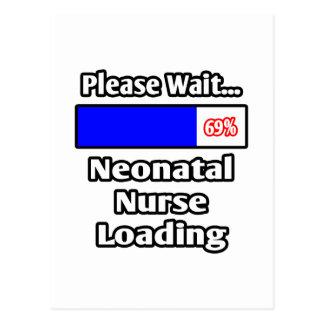 Please Wait...Neonatal Nurse Loading Postcard