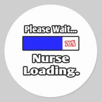 Please Wait...Nurse Loading Sticker