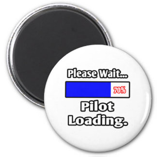 Please Wait...Pilot Loading Refrigerator Magnet