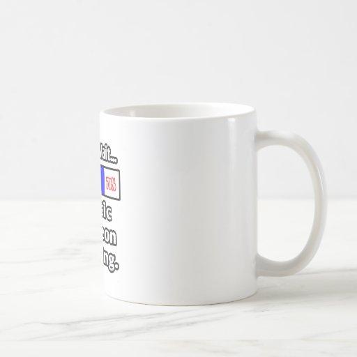 Please Wait...Plastic Surgeon Loading Classic White Coffee Mug