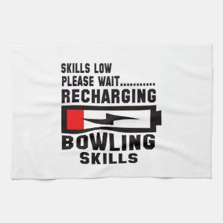 Please wait recharging Bowling skills Kitchen Towels