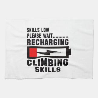 Please wait recharging Climbing skills Hand Towels